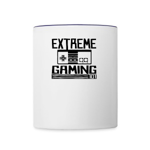 extreme gaming 101 accessories design - Contrast Coffee Mug