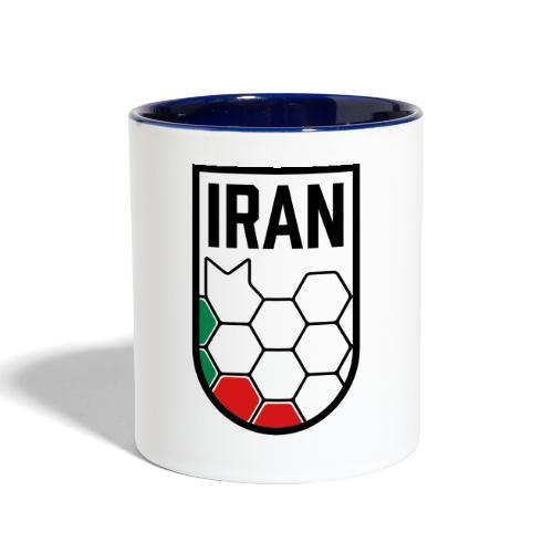 Iran Football Federation Crest - Contrast Coffee Mug
