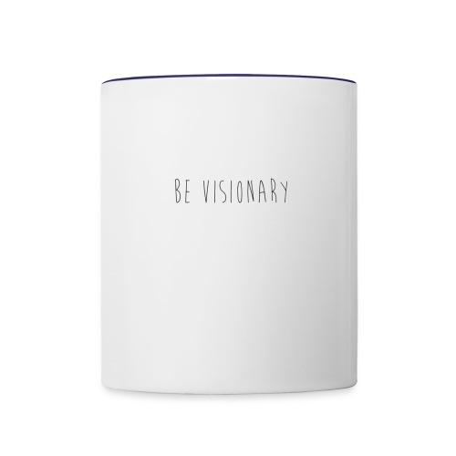 Be Visionary V5 - Contrast Coffee Mug