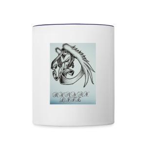 Midnight angel - Contrast Coffee Mug