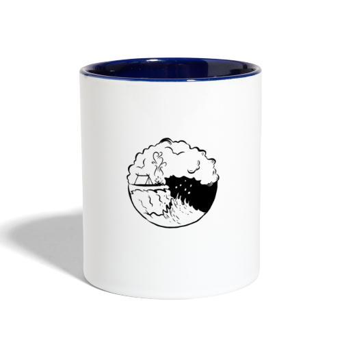 Beach - Contrast Coffee Mug