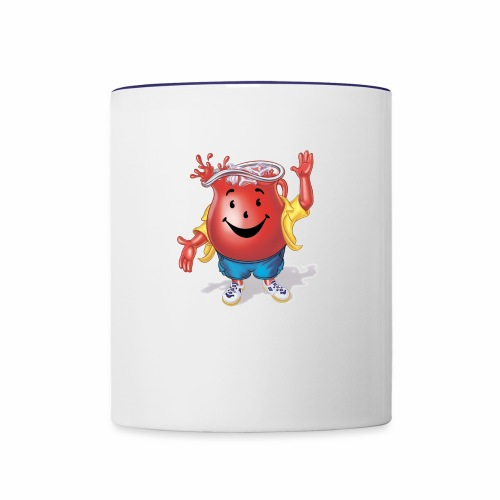 kool aid man - Contrast Coffee Mug