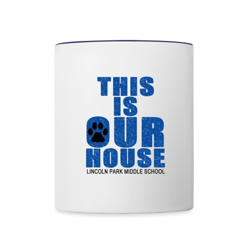 This is OurHouse - Contrast Coffee Mug