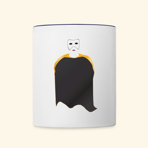 Mask - Contrast Coffee Mug
