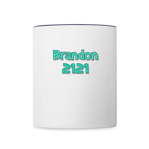 button - Contrast Coffee Mug