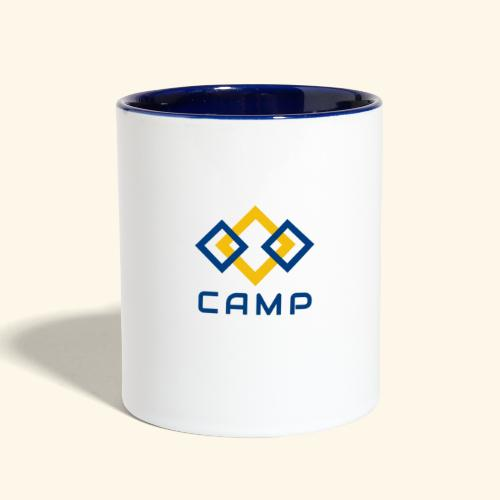 CAMP LOGO and products - Contrast Coffee Mug