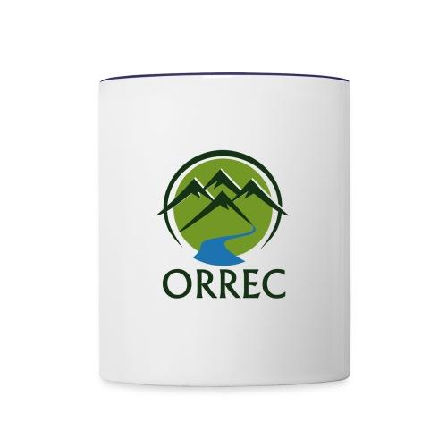 The ORREC LOGO - Contrast Coffee Mug