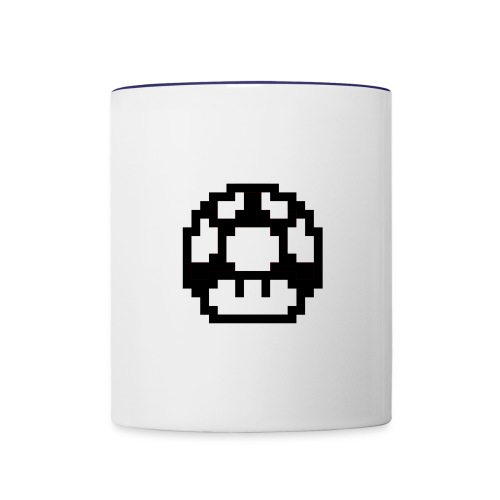 super mario mushroom - Contrast Coffee Mug