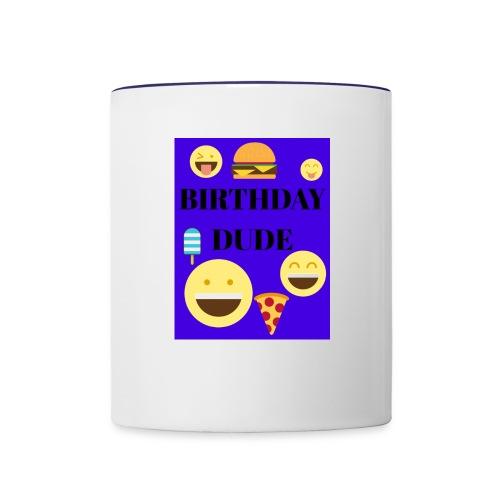 Birthday Dude - Contrast Coffee Mug