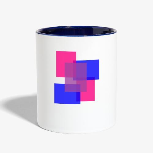 Bisexual Pride Logo - Contrast Coffee Mug
