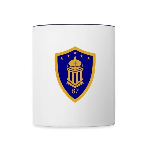 Ateneo HS Batch 87 Logo - Contrast Coffee Mug