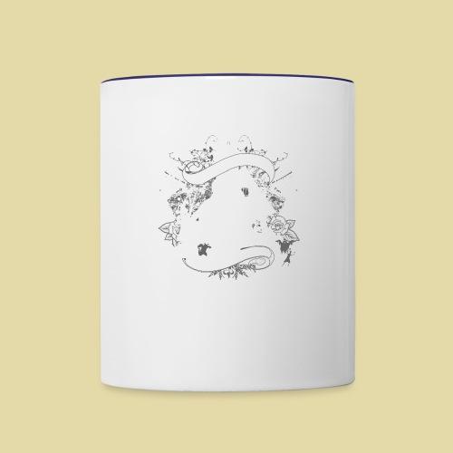 hoh_tshirt_skullhouse - Contrast Coffee Mug