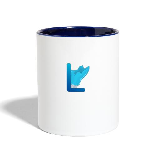 Small LuxStudios Logo - Contrast Coffee Mug