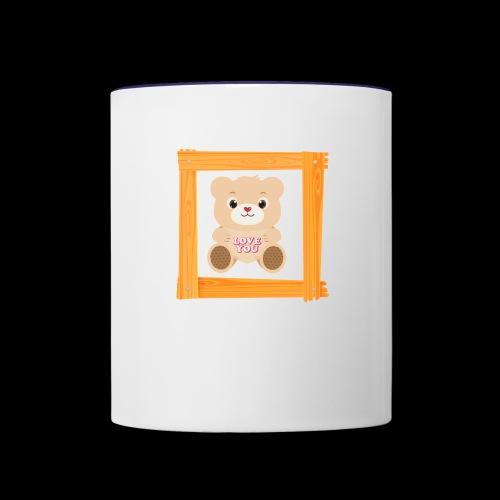 love - Contrast Coffee Mug