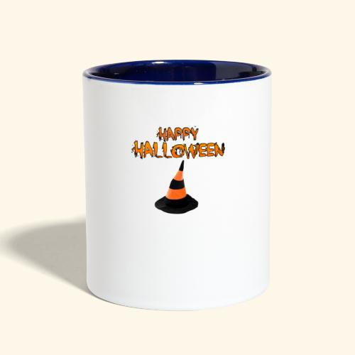 HAPPY HALLOWEEN WITCH HAT TEE - Contrast Coffee Mug