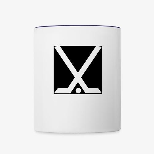 Hockey Logo - Contrast Coffee Mug