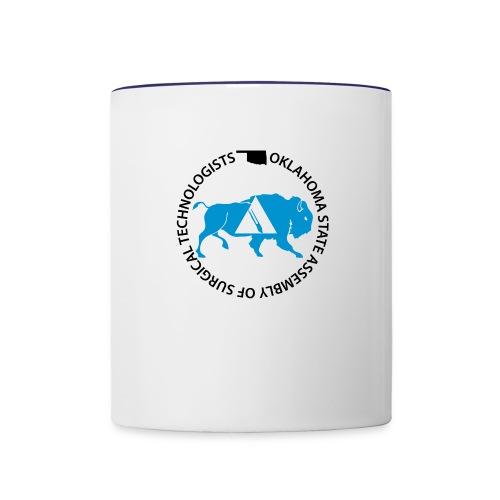 OKSAlogowhite - Contrast Coffee Mug