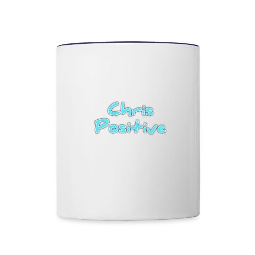 Chris Positive - Contrast Coffee Mug