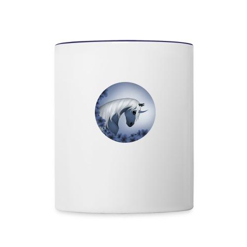 Dark unicorn - Contrast Coffee Mug