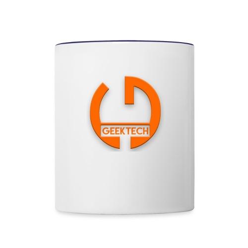 geek tech - Contrast Coffee Mug