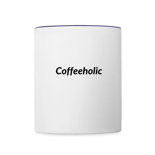 Coffeeholic line - Contrast Coffee Mug