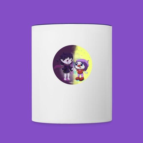 Salem and Mindy - Contrast Coffee Mug