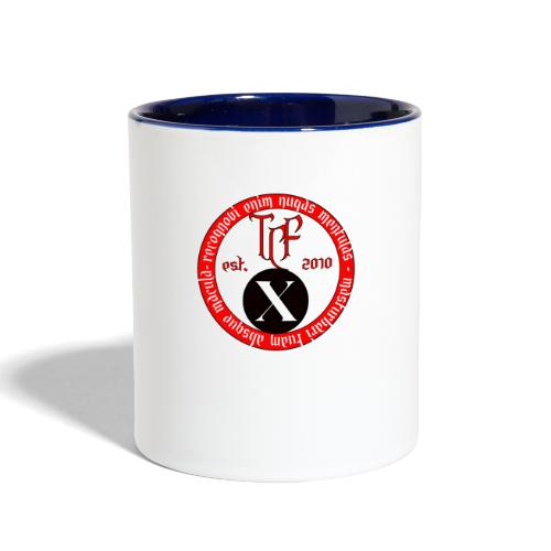 10th Anniversary Medallion - Contrast Coffee Mug