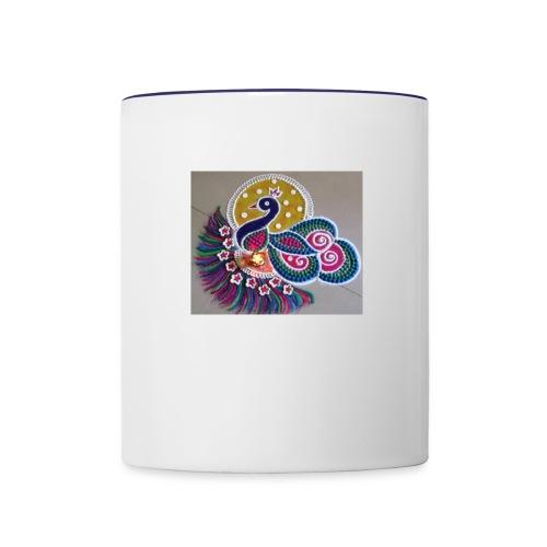 Muggu1 - Contrast Coffee Mug