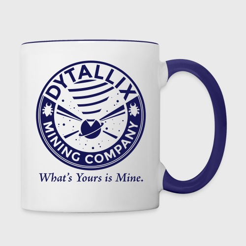 Star Trek Dytallix Conspiracy - Contrast Coffee Mug