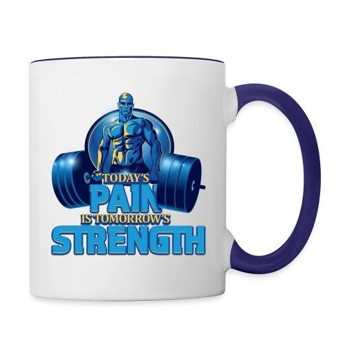 Heavy Lifting Man - Contrast Coffee Mug