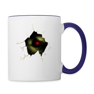 Broken Egg Dragon Eye - Contrast Coffee Mug