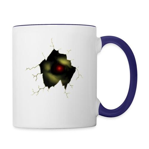 Broken Egg Dragon Eye - Contrast Coffee Mug