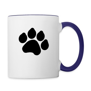 Black Paw Stuff - Contrast Coffee Mug