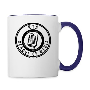 RTA School of Media Classic Look - Contrast Coffee Mug