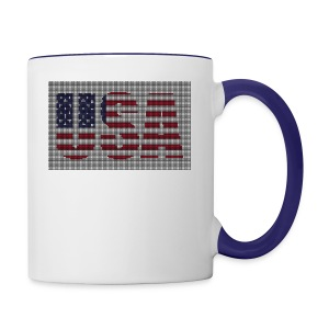 USA - Contrast Coffee Mug