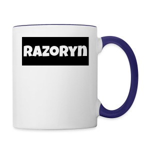 Razoryn Plain Shirt - Contrast Coffee Mug