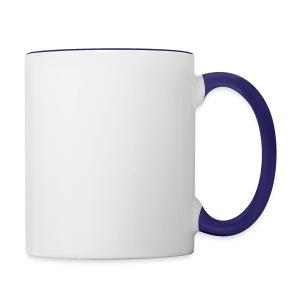 Recording Studio Rockstars - White Logo - Contrast Coffee Mug