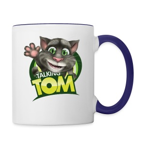 Talking_TOM_wave_preview_lowRes - Contrast Coffee Mug