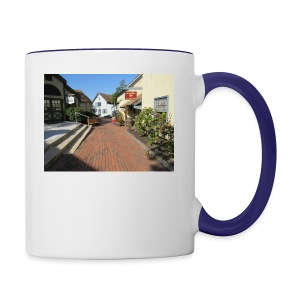 Historic Village - Contrast Coffee Mug