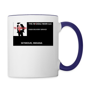 The Middle Man FDS Logo - Contrast Coffee Mug