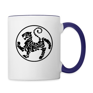 Shotokan-Tiger_black - Contrast Coffee Mug