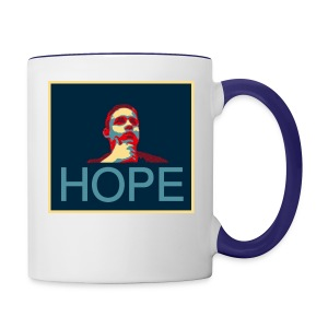 hope - Contrast Coffee Mug
