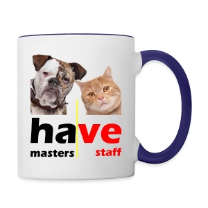 Dog & Cat - Contrast Coffee Mug