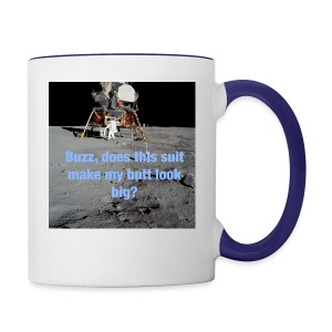 Does this Spacesuit make my butt look big? - Contrast Coffee Mug