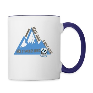 BBQ A Mile High - Contrast Coffee Mug