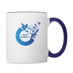 Just Believe - Contrast Coffee Mug