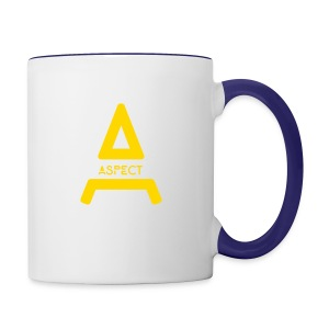 Limited Edition Gold Aspect Logo Sweatshirt - Contrast Coffee Mug