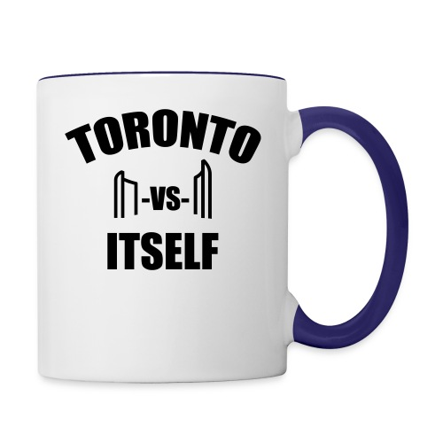 6 Versus 6 - Contrast Coffee Mug