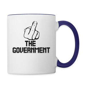 Fuck The Government - Contrast Coffee Mug