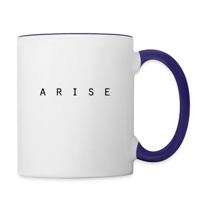 Arise - Contrast Coffee Mug